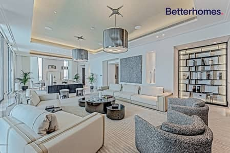 4 Bedroom Penthouse for Rent in Downtown Dubai, Dubai - Contemporary | Full Floor | Vacant now