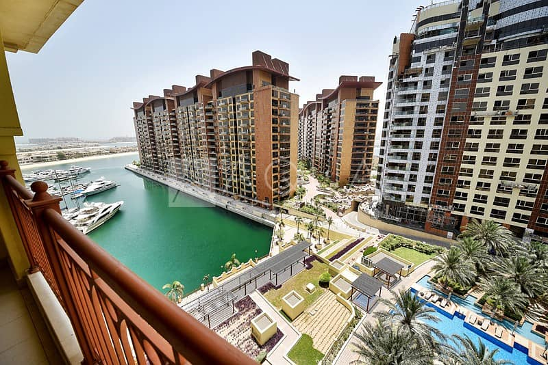 11 Large balcony | Sea and Pool view | Vacant