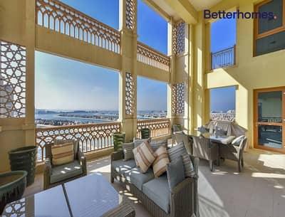 بنتهاوس 4 غرف نوم للبيع في نخلة جميرا، دبي - Luxurious Penthouse I Fully Upgraded I Sea view I Marina Residence 3