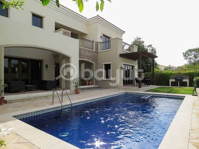 5 Bedroom Villa for Rent in Jumeirah Golf Estate, Dubai - Best Priced Murcia Villa | Full Golf Course View