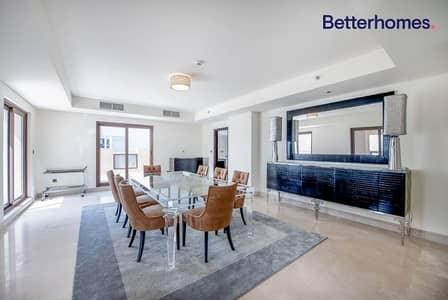 بنتهاوس 4 غرف نوم للبيع في نخلة جميرا، دبي - Sea View|Flow Floor|Furnished by Visionnaire|Posh