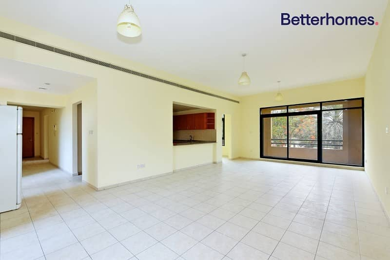 Unfurnished | Rented | Partial Pool View