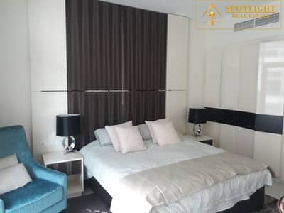 Furnished Studio| Canal View| Well Maintained