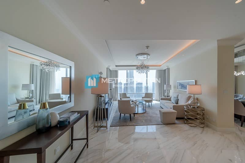4BR+M SkyCollection Serviced Penthouse/ Burj Views