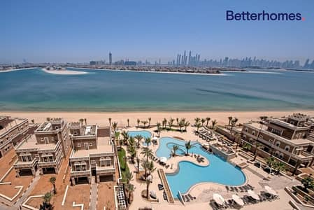 فلیٹ 3 غرف نوم للايجار في نخلة جميرا، دبي - Breathtaking Sea and Palm Jumeirah Views
