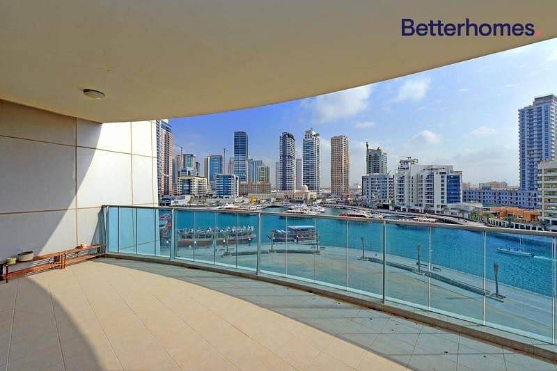 Balcony | Marina View | Rented | The Jewels
