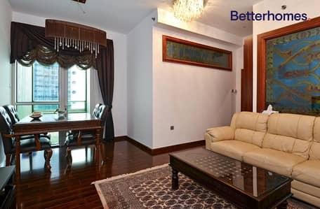 1 Bedroom Flat for Rent in Dubai Marina, Dubai - Furnished | Balcony | Sea View |