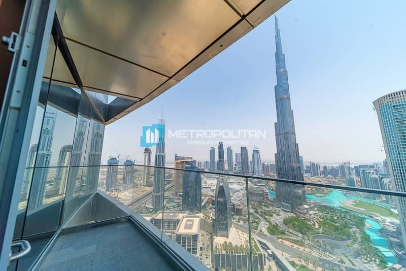 Sky Collection / 4BR+M /Full Burj & Fountain Views