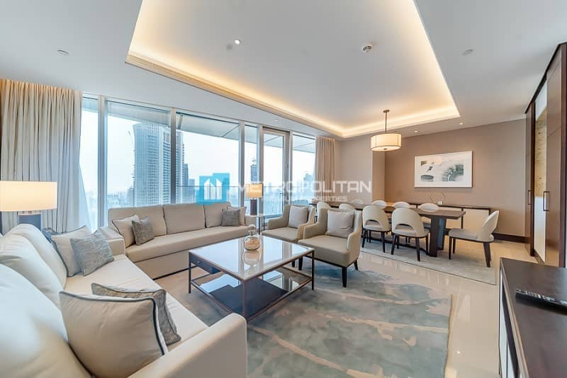 2 Sky Collection / 4BR+M /Full Burj & Fountain Views