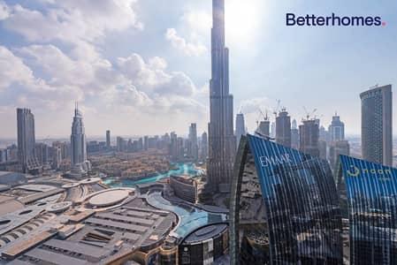3 Bedroom Flat for Rent in Downtown Dubai, Dubai - 3 bed + maids |  Burj View |  Unique Unit
