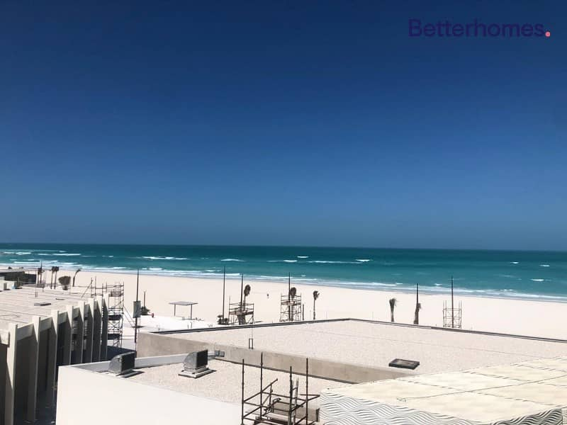 Duplex one bedroom full sea view with beach access