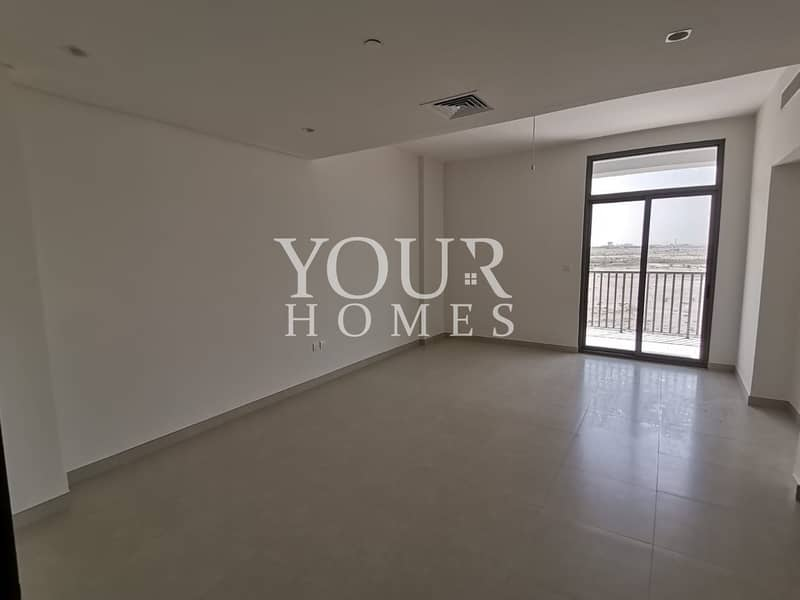SM | Spacious 2 Bed + Maid room | Balcony
