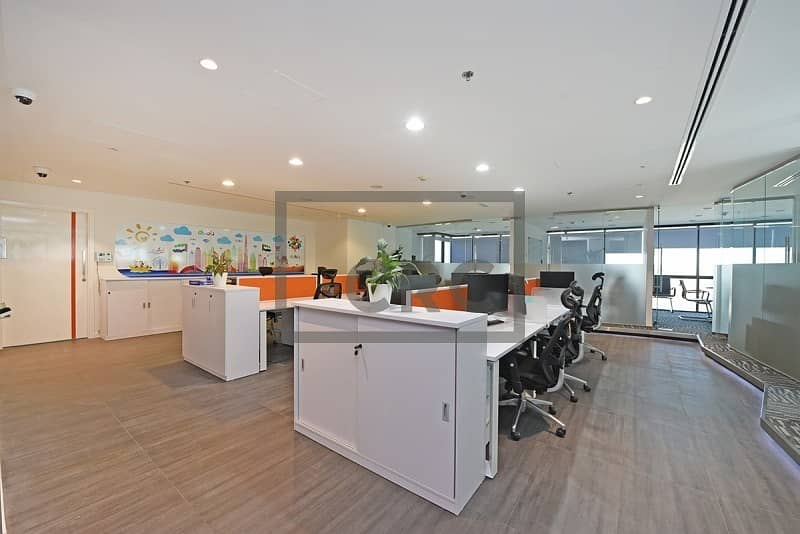 2 Executive  fully furnished Office | High Quality Finish