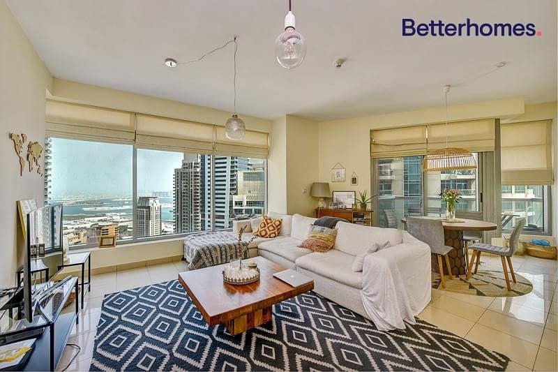 Panoramic View| High Floor| Unfurnished I Spacious