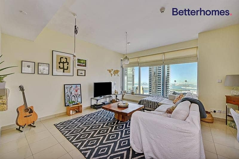 2 Panoramic View| High Floor| Unfurnished I Spacious
