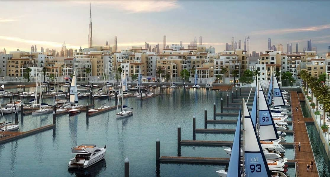 Four Bedroom Townhouse | Waterfront | Free Hold In Jumeirah