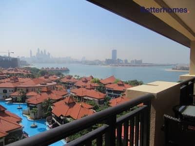 شقة 1 غرفة نوم للايجار في نخلة جميرا، دبي - High Floor | One Bed | Sea & Lagoon Views