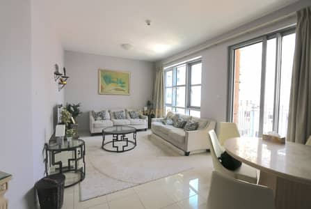 فلیٹ 2 غرفة نوم للايجار في وسط مدينة دبي، دبي - 2 BR + Study | Stand Point | Low Floor