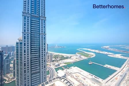 4 Bedroom Penthouse for Rent in Dubai Marina, Dubai - Furnished or Unfurnished | High Floor | Sea View