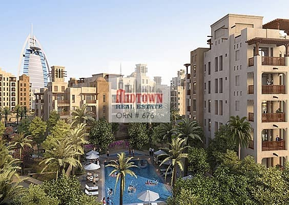   2 years post completion payment plan   own ur luxury 1br from AED 80K
