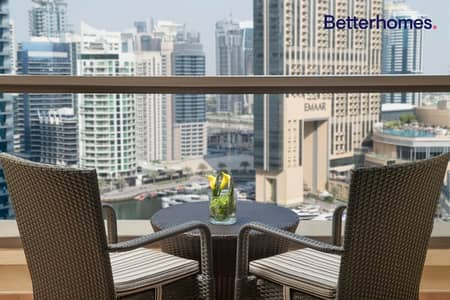 3 Bedroom Hotel Apartment for Rent in Jumeirah Beach Residence (JBR), Dubai - Good Location High Floor  Spacious Fully Furnished