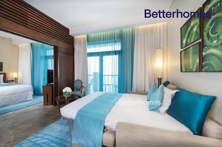 2 Bedroom Hotel Apartment for Rent in Palm Jumeirah, Dubai - Sea View|Furnished|Serviced Hotel|Bills Inclusive