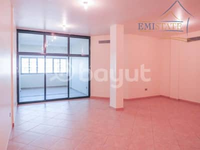 3 Bedroom Apartment for Rent in Al Khalidiyah, Abu Dhabi - Below Market Price Large 3+M | Balcony & Partial Sea View