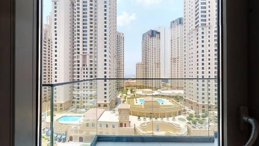شقة 1 غرفة نوم للايجار في دبي مارينا، دبي - Exclusive | Chiller free | Monthly payments