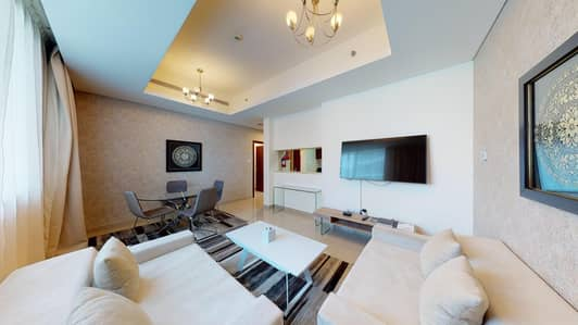 شقة فندقية 1 غرفة نوم للايجار في دبي مارينا، دبي - Contactless viewings   12 payments   Immediately available