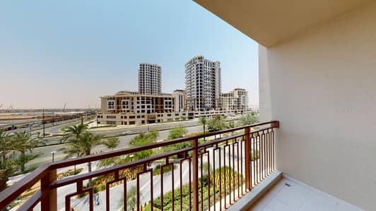 شقة 1 غرفة نوم للايجار في تاون سكوير، دبي - Pets allowed | Community views | Visit with your phone