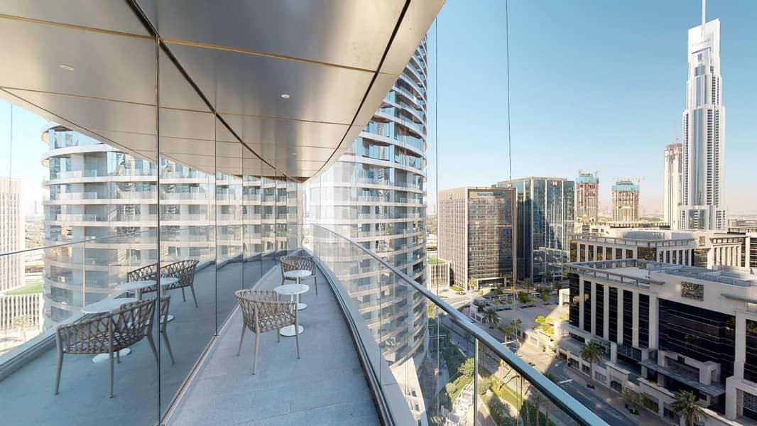 Burj Khalifa View | Infinity Pool | Rent Online