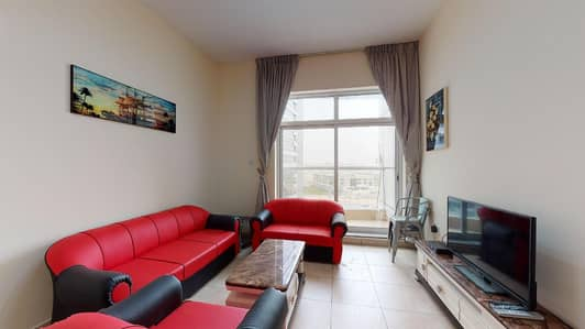 فلیٹ 1 غرفة نوم للايجار في برشا هايتس (تيكوم)، دبي - Open kitchen   Contactless tours   12 payments