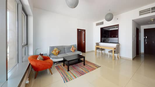 1 Bedroom Flat for Rent in Downtown Dubai, Dubai - City Views | AC Included | Pay Monthly