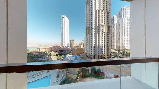 فلیٹ 4 غرف نوم للايجار في جميرا بيتش ريزيدنس، دبي - Free TV & WiFi Plan | Monthly payments | Rent online