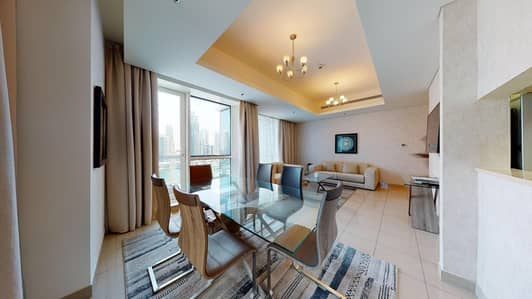 2 Bedroom Hotel Apartment for Rent in Dubai Marina, Dubai - No Commission | Chiller free | Pay monthly