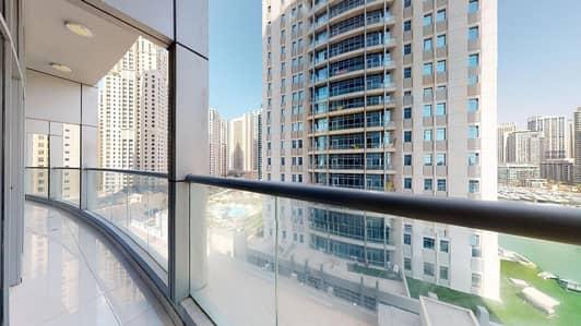 شقة 3 غرف نوم للايجار في دبي مارينا، دبي - Marina Yacht club view   Contactless tours   Shared gym