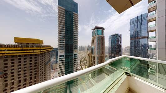 شقة 2 غرفة نوم للايجار في دبي مارينا، دبي - Pay monthly | Furnished | Chiller free