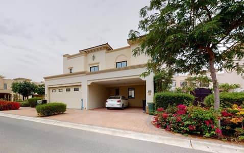 فیلا 4 غرف نوم للايجار في ريم، دبي - Comfy villa with maid's room | Landscaped garden | Rent online