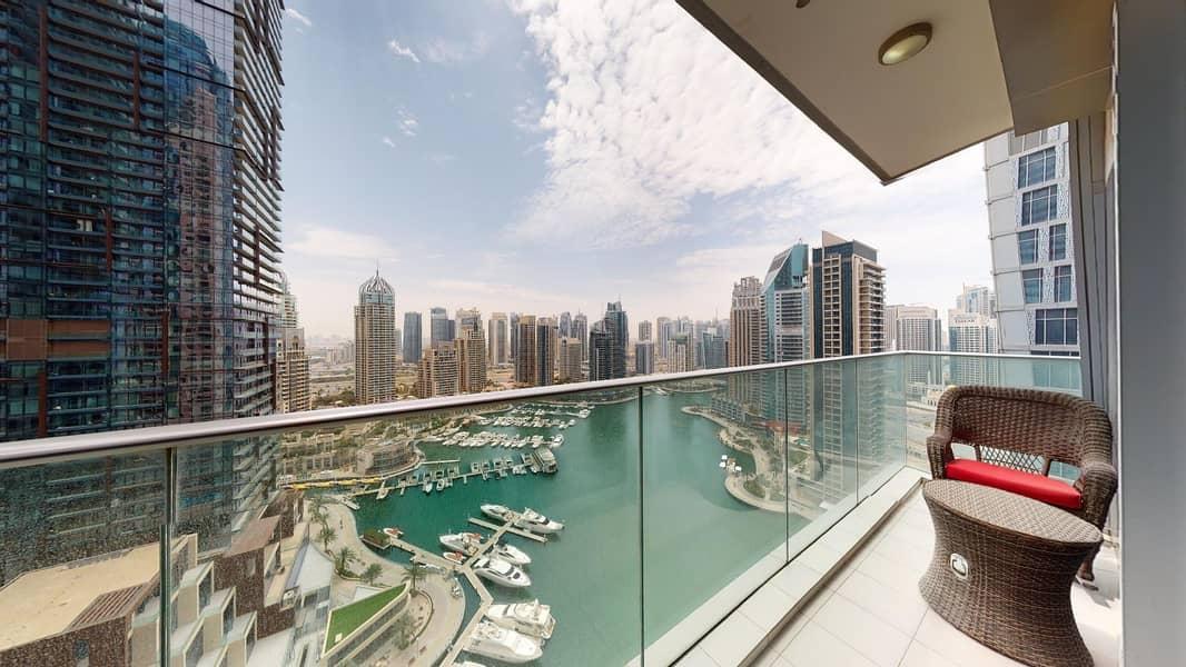 Furnished apartment   Marina views   Rent Online