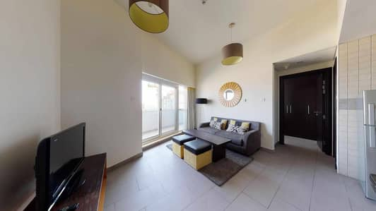 شقة 1 غرفة نوم للايجار في مدينة دبي الرياضية، دبي - Fully furnished | Monthly payments | Pay rent online
