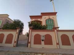 VILLA FOR RENT 5 BEDROOM HALL MAJLIS WITHOUT AC BIG HOSH IN AL  MOWAIHAT 2 AJMAN