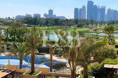 شقة 2 غرفة نوم للايجار في ذا فيوز، دبي - Rare Furnished 2 BR+Study | Golf Course View