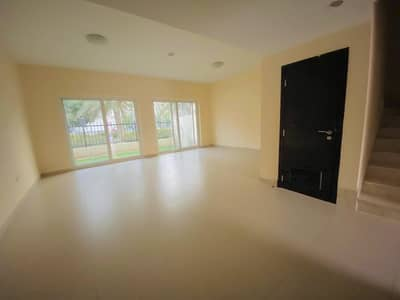 Single Row   3BR + Maid Room Villa  Warsan Village   74K 4 Chqs.