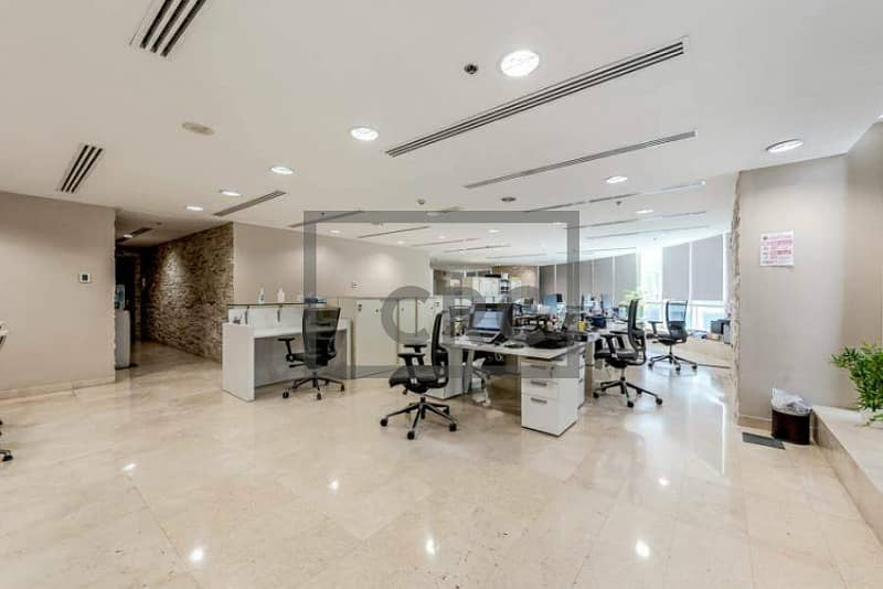 2 Fitted Office|SZR View|High-Floor|Near Metro (Unfurnished)