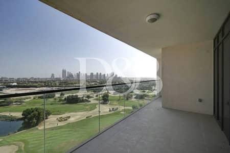 فلیٹ 3 غرف نوم للبيع في مركز دبي التجاري العالمي، دبي - High Level Golf View | 3BR+M | Large Terrace