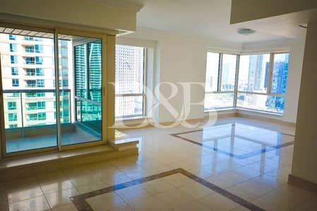 3 Bedroom Flat for Rent in Dubai Marina, Dubai - Plus Maid's Room | Huge Bedrooms | Best Community