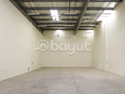 Warehouse for Rent in China Mall, Ajman - Warehouses for rent at exclusive prices with high electricity voltage 35 kv to 70 kv
