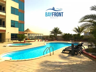 3 Bedroom Flat for Rent in Al Furjan, Dubai - Pool View| 3Bed + Store| Metro| No Chiller| 4 Chqs