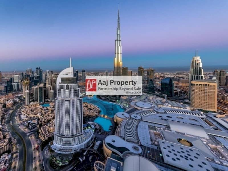 05 Series  Luxury Unit | Full Burj & Fountain View !!