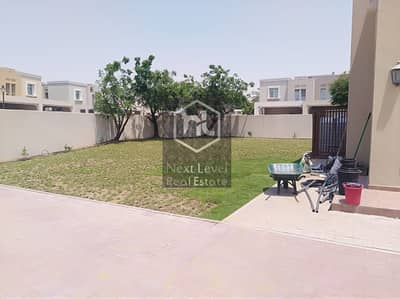 3 Bedroom Townhouse for Rent in Arabian Ranches, Dubai - Al Reem2 Type 3E with a GIGANTIC Plot